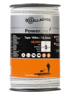 Ruban PowerLine 12.5mm Gallagher