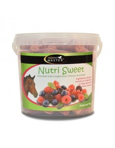 Nutri sweet friandise saveur fruits rouges Horse Master