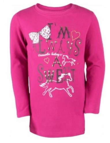 5a72eac14 T-shirt manches longues Fille PONY Horka - Sylvie Forzy Equitation