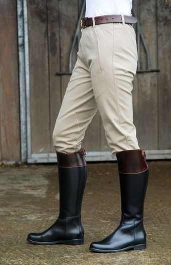 Bottes cuir HUNTING Charles Fox Sylvie Forzy Equitation