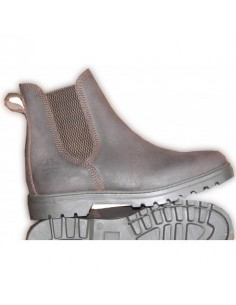 Boots Charly croute de cuir