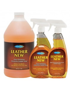 Savon liquide Leather New Farnam