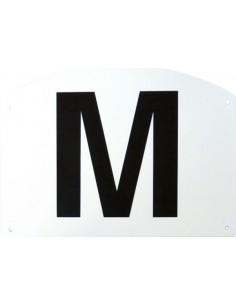 Set de 12 lettres de manège Ekkia