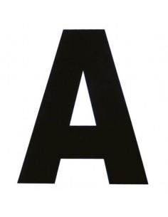 Set de 12 lettres de manège autocollantes Ekkia